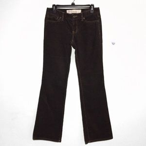 Loft Brown Corduroy Slim Boot Pants 4